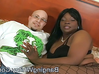 BBW Ebony Fishnet