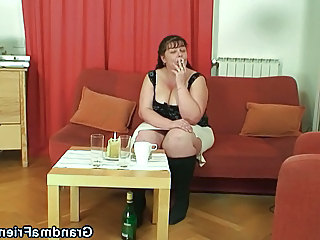 Drunk Smoking BBW