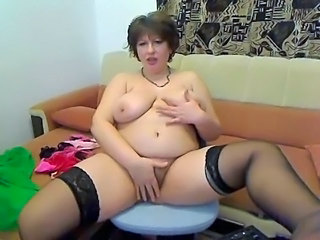 Hairy Masturbating Webcam