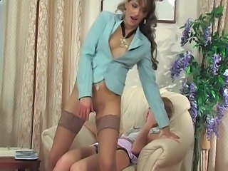 Older and younger strap-on 2