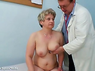Uniform Doctor Older Doctor Mature Gyno Mature Pussy