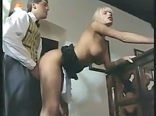 Anita Blond is now maid and loves fucking