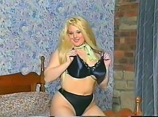 British MILF Kirstyn Halborg in several solo scenes