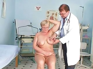 Older Doctor Saggytits Doctor Mature Gyno Kinky