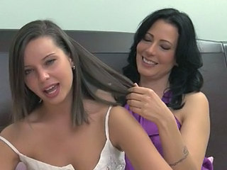 Zoey Holloway and Aussie Girl Lesbian Love
