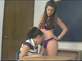Schoolgirl Takes It In The Ass To Pass