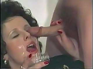 Swallow Cumshot Vintage Sperm