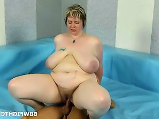 Hårete Riding BBW