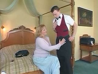 Mature With Big Tits Fucking With Young Boy