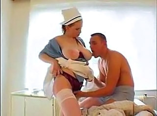 Very hot and Sexy Big Breasted Nurse Fucked