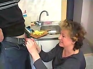 Handjob Kitchen Amateur Amateur Family First Time