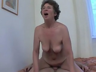 Anal Riding Saggytits Granny Anal Riding Tits