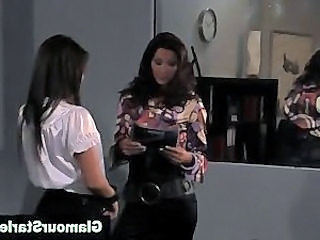 Video from: hardsextube | Posh office babe gets eaten out
