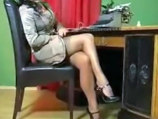 Secretary Legs Office Nylon Stockings