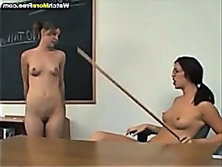 Teacher School Lesbian Lesbian Teen Punish School Teacher