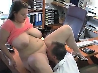 Office MILF Saggytits