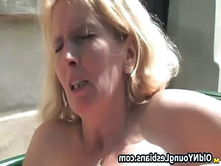 Blonde mature woman gets part6