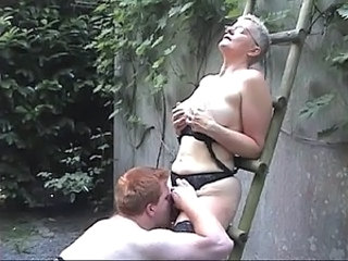 Licking Lingerie Outdoor Ass Licking Lingerie Old And Young