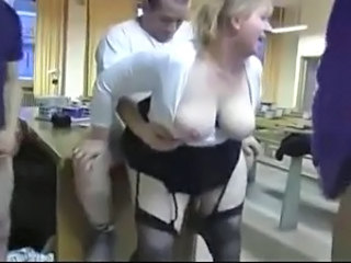 Office Doggystyle MILF