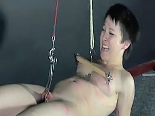 Japanese BDSM and Tit Torture