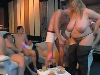 Party Groupsex Old And Young