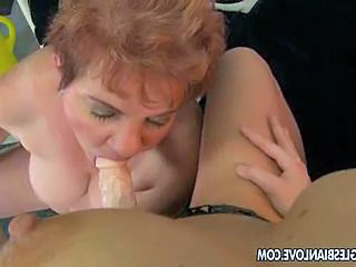 Young sex maniac with her old maid