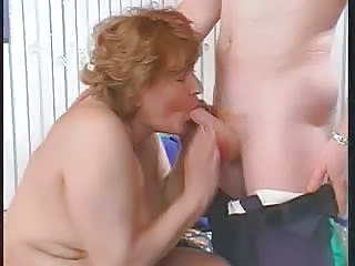 Mature Fat Aunt Fucks With Her Nephew