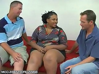 Bbw Melody Nyte Takes On Two Cocks And Sucks And Fucks Both