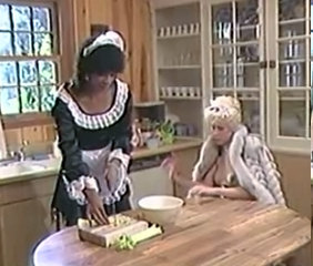 Maid Kitchen MILF