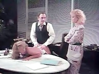 Threesome Office Vintage Milf Ass Milf Office Milf Threesome