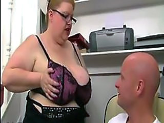 Bbw Mature Takes Guy