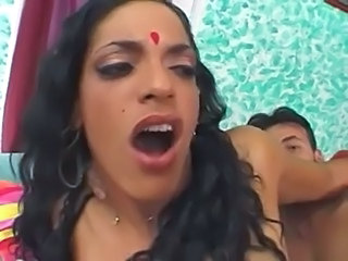 Indian woman doggy and more