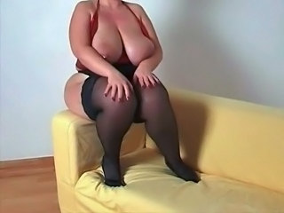 Stockings BBW Big Tits