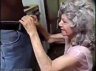 Vintage Interracial Granny Sex