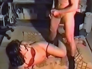 MILF Vintage Dress Milf Facial