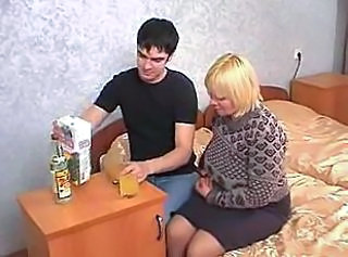 Drunk Russian Mom