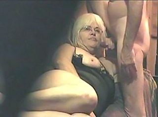 Older BBW Blowjob