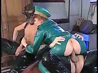 Fetish Latex MILF Clothed Fuck Milf Threesome Threesome Hardcore
