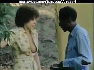 Vintage Interracial Scene Outdoor