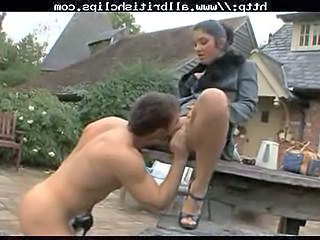 British Indian Chick Drilled Outdoor