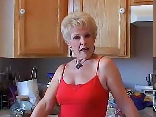Kitchen Grandma Kitchen Sex