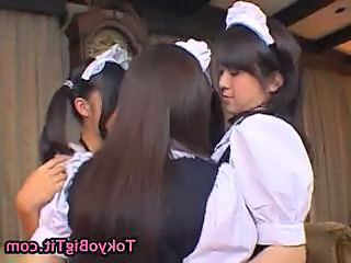 Japanese Uniform Maid Asian Babe Asian Lesbian Asian Teen