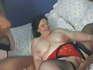 BBW Big Tits Groupsex