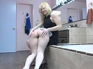 Ass Bathroom Blonde Bathroom Blonde Lesbian Maid Ass