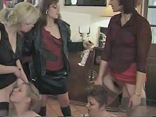 Licking MILF Clothed Lesbian Licking Milf Lesbian