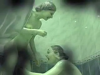 Hidden Cam - Two Girls In Shower 02