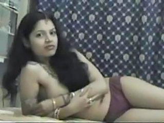 Hot Indian girl solo in her skimpy outfit tubes