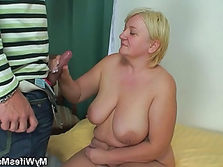 Handjob Natural BBW Bbw Big Cock Bbw Mature Bbw Mom