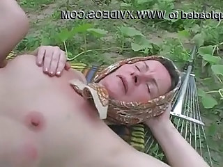 Farm Outdoor Farm Granny Anal Outdoor