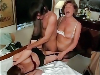 Family Homemade Threesome Amateur Family Grandma